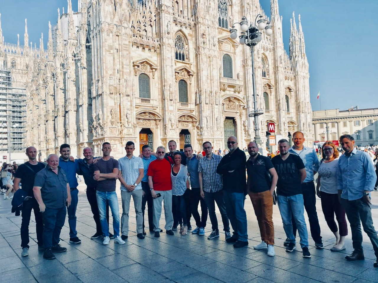 Docon7 Service Training in Milan, Italy